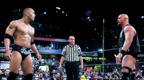 Fans have been hoping for Austin and The Rock to return for years.