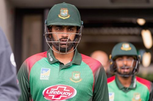 Tamim Iqbal will be looking to continue his good form in England.