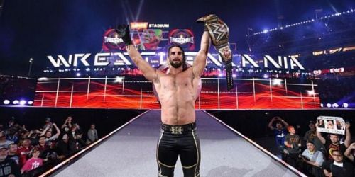 The New Mr. WrestleMania should be the face of the red brand