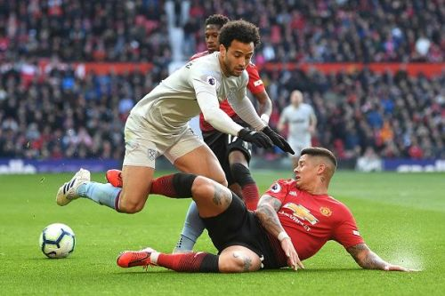 Felipe Anderson was too hot to handle for Marcos Rojo