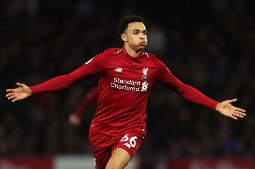 Trent Alexander-Arnold is a young and rising right back