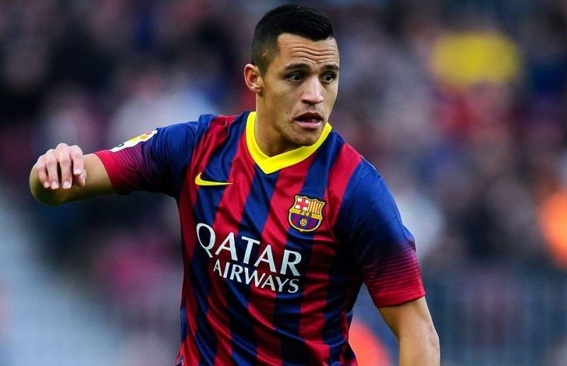 Alexis Sanchez left Barca for the Premier League in 2014