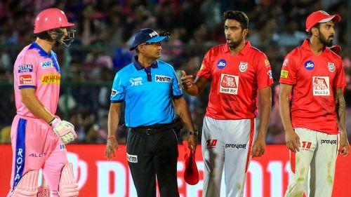 The mankading incident between Ashwin and Buttler