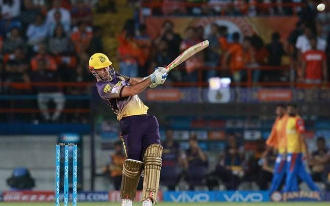 Chris Lynn has been very disappointing for KKR this season.