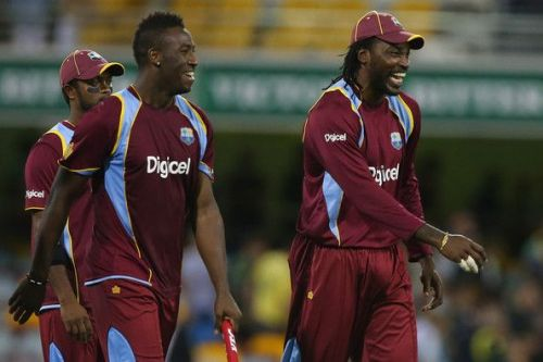 Chris Gayle and Andre Russell feature in Windies's World Cup squad