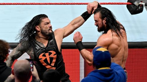 Roman Reigns defeated Drew McIntyre at WrestleMania 35