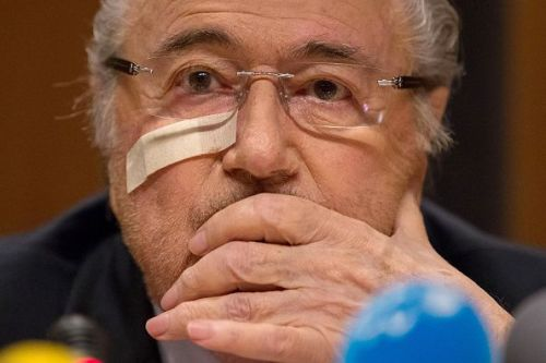 Sepp Blatter, the disgraced erstwhile head of FIFA