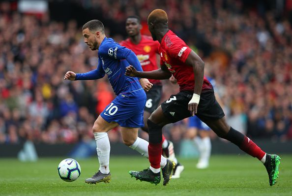 Hazard was a constant threat that United needed to be wary of, despite not getting on the scoresheet