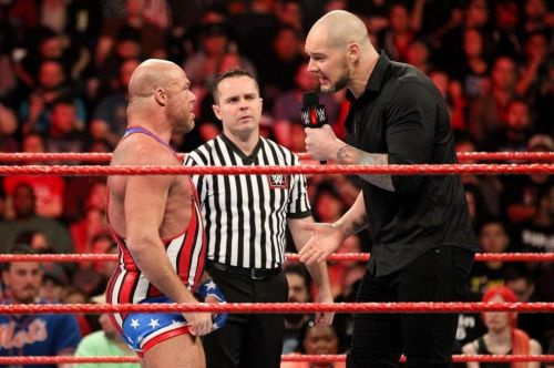 Kurt Angle may not win at WrestleMania