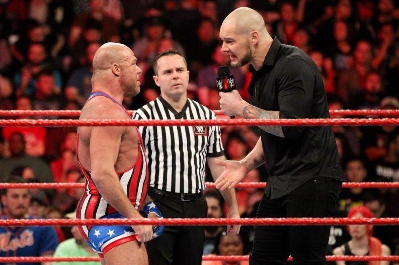 Kurt Angle may not win at WrestleMania