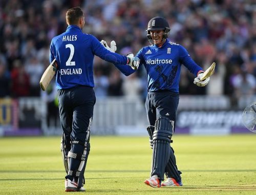 Alex Hales and Jason Roy