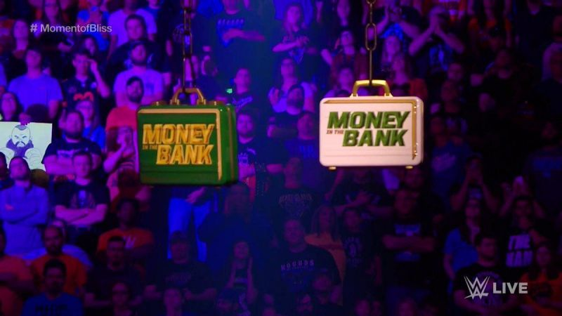 The Money in the Bank match is looking