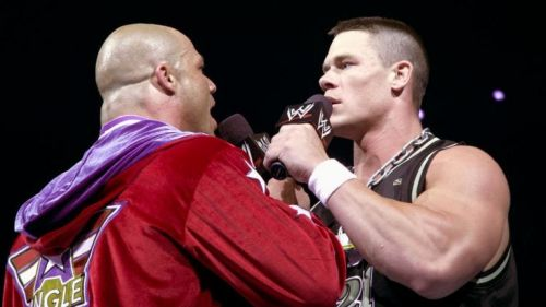 Angle and Cena in 2003