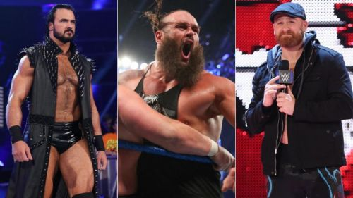 Drew McIntyre, Braun Strowman and Sami Zayn are Raw Superstars