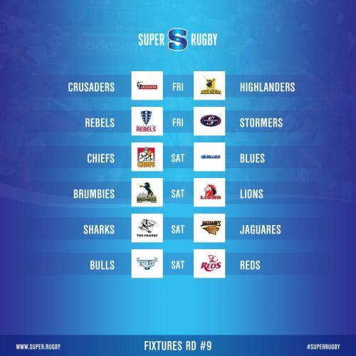Round 9 Fixtures