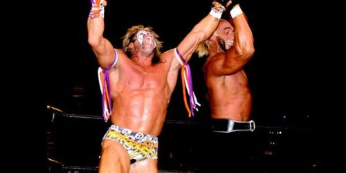 Ultimate Warrior vs. Hulk Hogan part II? This should have been a classic, but instead fell miserably flat, like all of Warrior's WCW run.