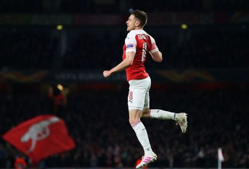 Juventus bound Aaron Ramsey is the longest serving Arsenal player in Unai Emery's squad, having served the Gunners for about 10 years.