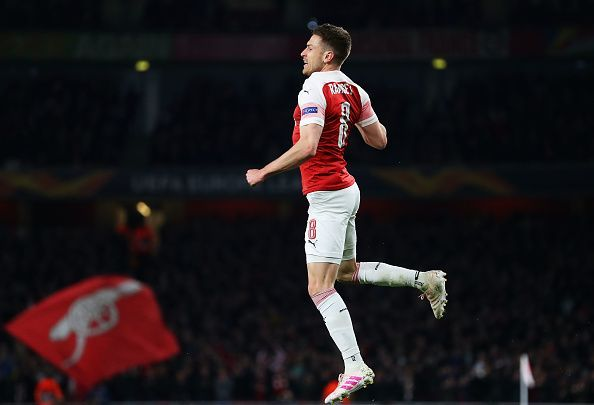 Juventus bound Aaron Ramsey is the longest serving Arsenal player in Unai Emery