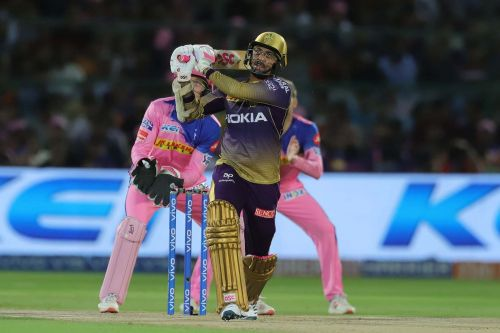 Narine's partnership with Lynn sealed the deal for KKR (Pic credits: BCCI)