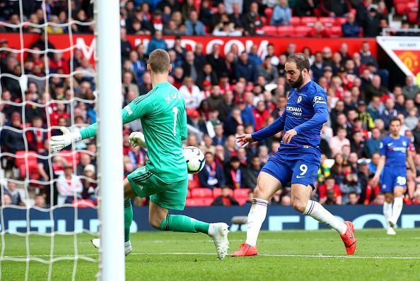 Higuain squandered promising chances and failed to impose any real impact on the game