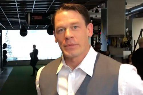 John Cena's new look