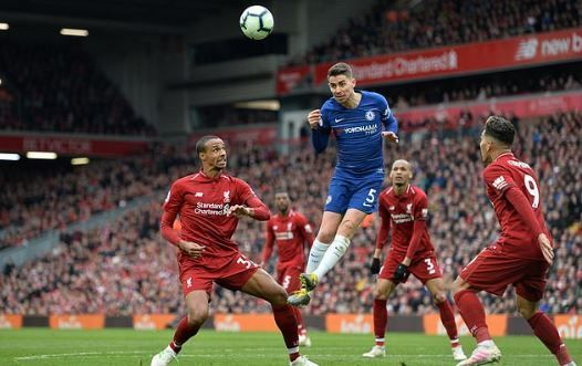 Jorginho often appeared anonymous and was pedestrian in the build-up to both Liverpool goals