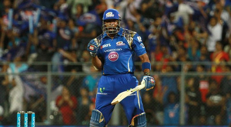 Pollard single-handedly won a game for MI against KXIP
