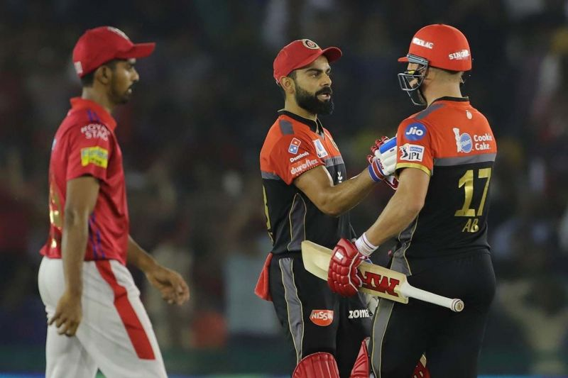 Virat Kohli and AB de Villiers played brilliant knocks to get RCB its first points on the board