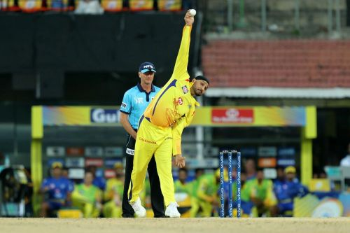 At an economy of just above 4, Harbhajan was Dhoni's trump card with the ball.