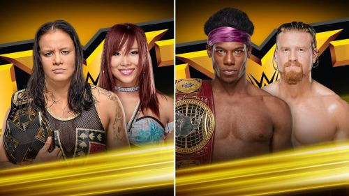 Two of the major titles on NXT will be up for grabs
