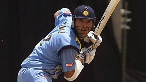 yuvi having played for India since 2000