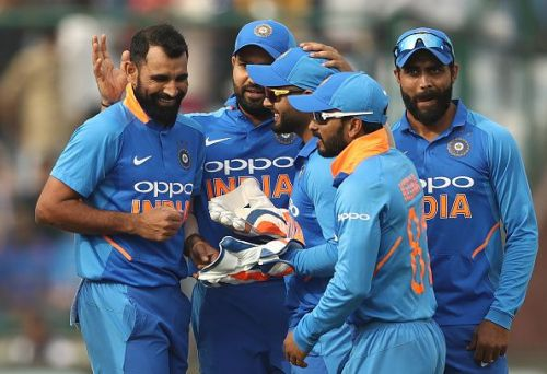 Mohammad Shami bowled out Rishabh Pant, who was looking to take Delhi home.