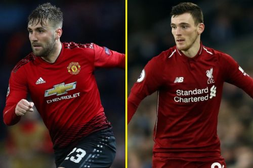 Luke Shaw and Andy Robertson