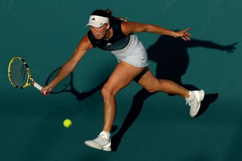 Caroline Wozniacki had to chase down every point to win at the Volvo Car Open