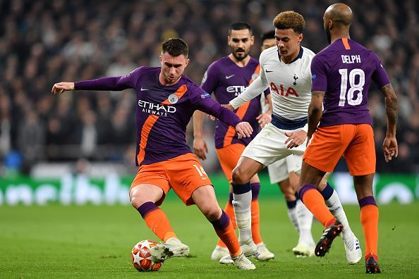 Tottenham Hotspur v Manchester City - UEFA Champions League Quarter Final: First Leg
