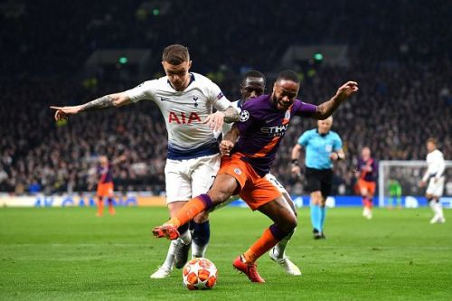 Manchester City and Tottenham clash swords at the Etihad