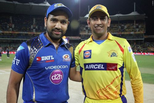 Rohit and Dhoni - The rivalry continues(Image Courtesy: IPL T20/BCCI)