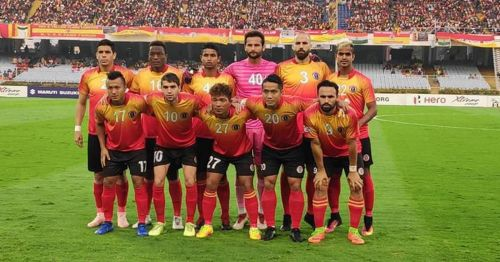 East Bengal finished as the runners-up in this season's I-League