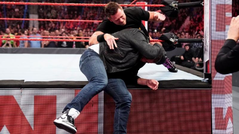 The Miz earned his WrestleMania payback against Shane McMahon by returning to RAW!