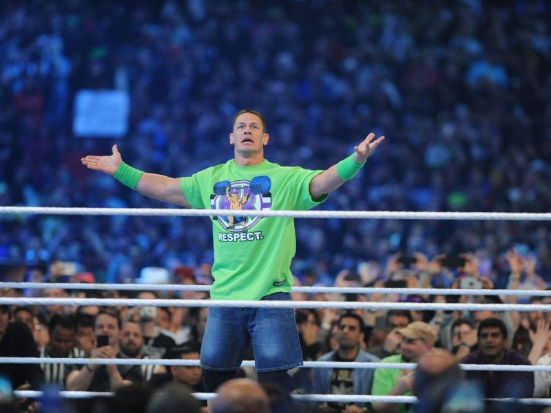 What could Cena do at the biggest show in wrestling this year?