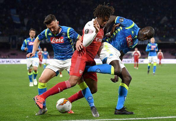 S.S.C. Napoli v Arsenal - UEFA Europa League Quarter Final: Second Leg
