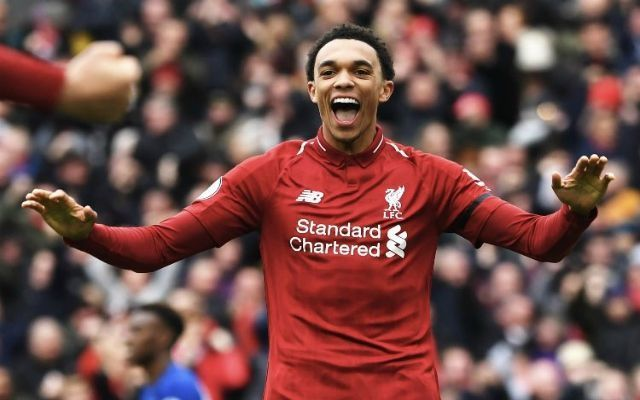 Alexander-Arnold excelled against a dangerous, unpredictable Chelsea side