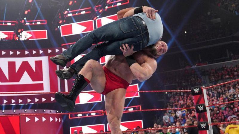 Lars Sullivan made quite the splash during his RAW debut