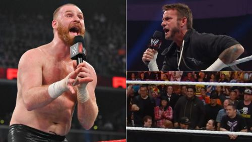 Sami Zayn cut a promo after his post-WrestleMania return