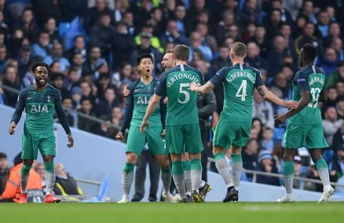 Manchester City v Tottenham Hotspur - UEFA Champions League Quarter Final: Second Leg