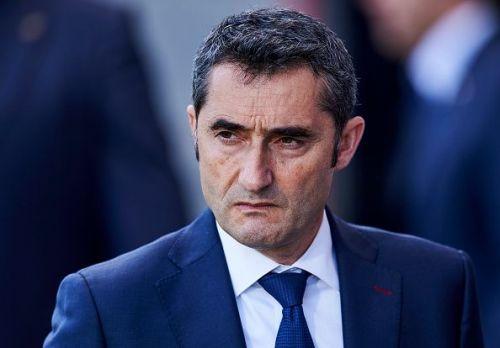 FC Barcelona coach, Ernesto Valverde