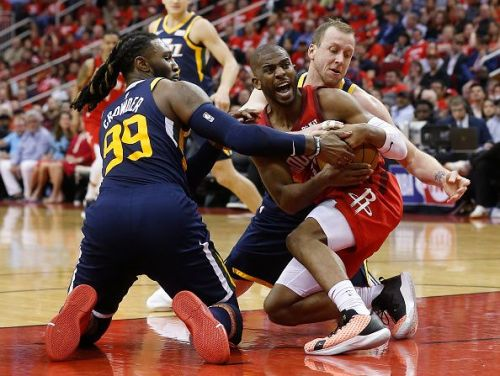Utah Jazz v Houston Rockets - Game Two