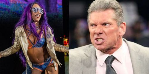 Vince isn't pleased with Sasha's behavior one bit