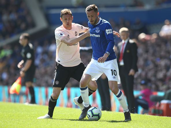 Nemanja Matic looked out of sorts against Everton