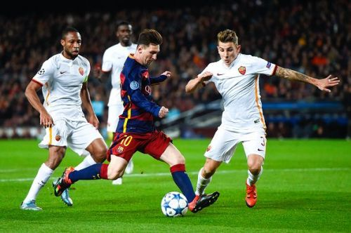 FC Barcelona v AS Roma - UEFA Champions League